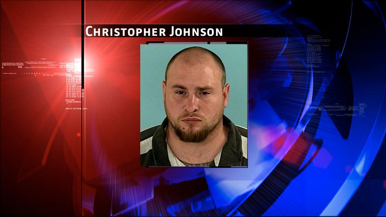 Christopher Jay Johnson, 25, was charged with aggravated robbery for allegedly robbing a man at gunpoint outside a motel in The Woodlands