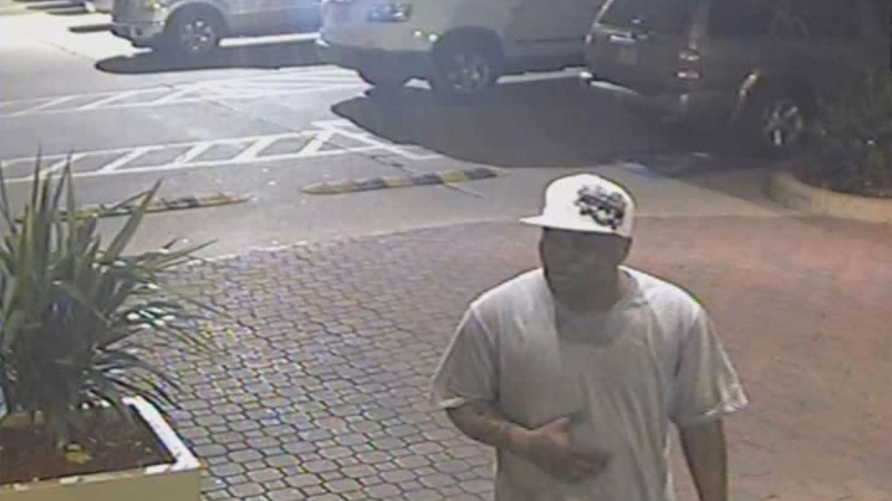 Southwest Houston motel robbery suspect