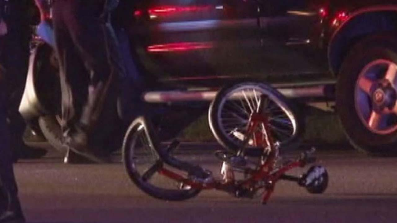 Bicyclist struck and killed by SUV in northwest Harris County