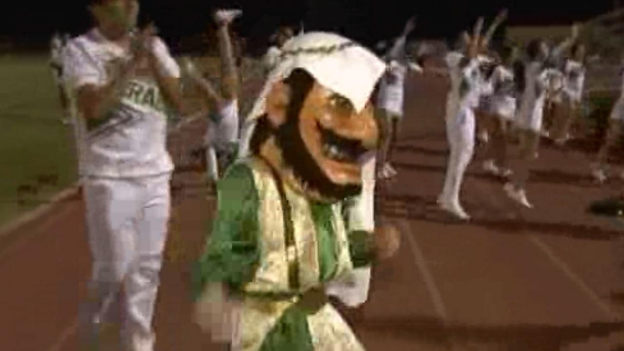 Is 'Arab' high school mascot offensive or celebratory?