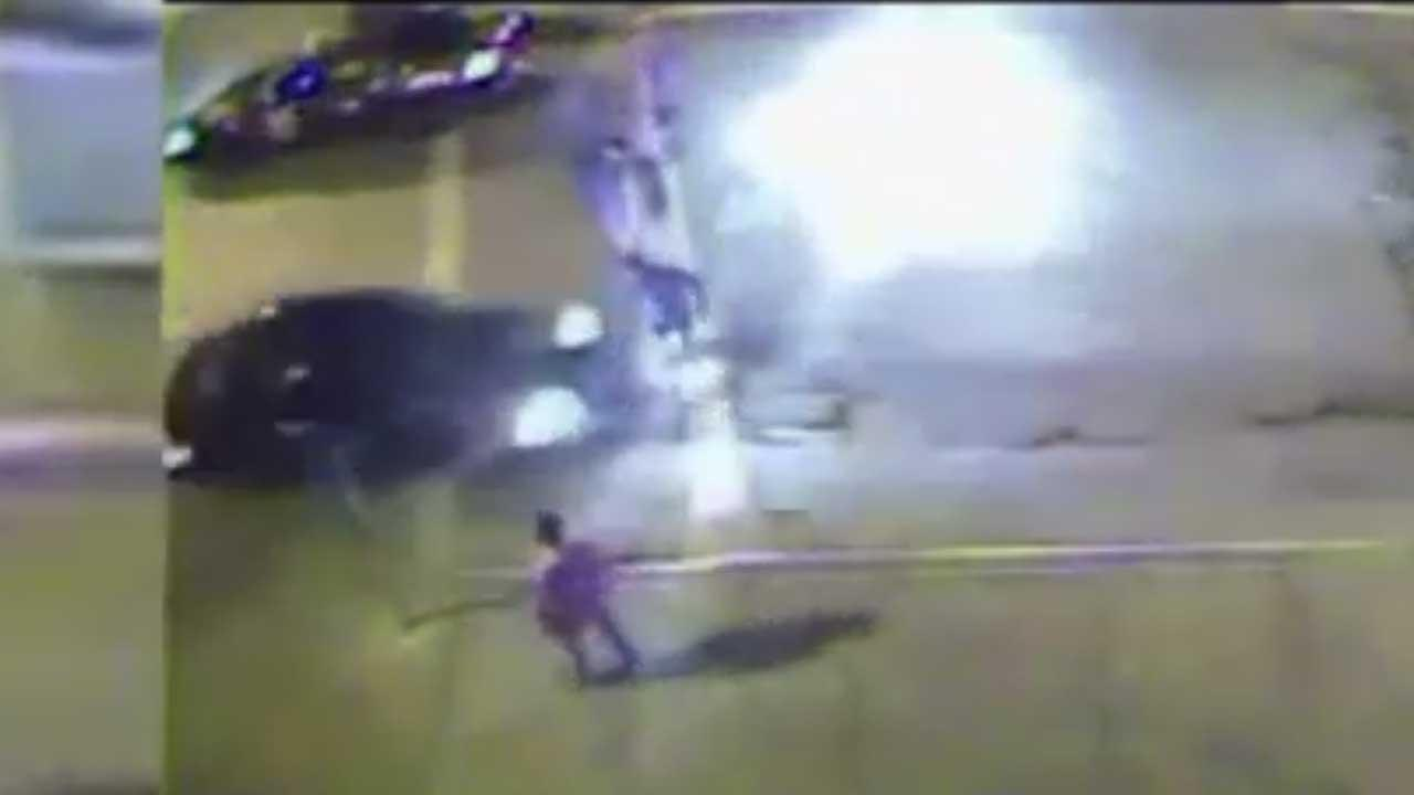 Terrifying hit-and-run in Milwaukee caught on camera