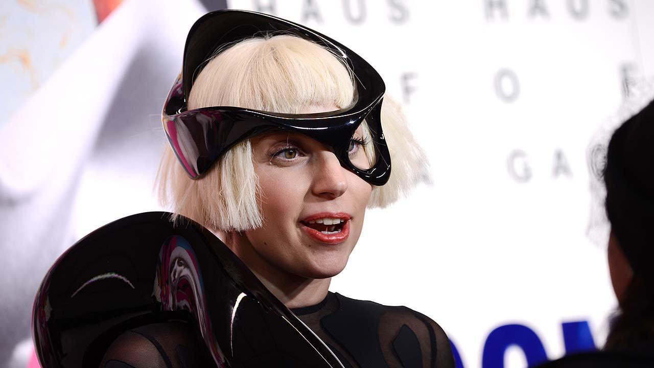 Singer Lady Gaga attends her ARTPOP album release