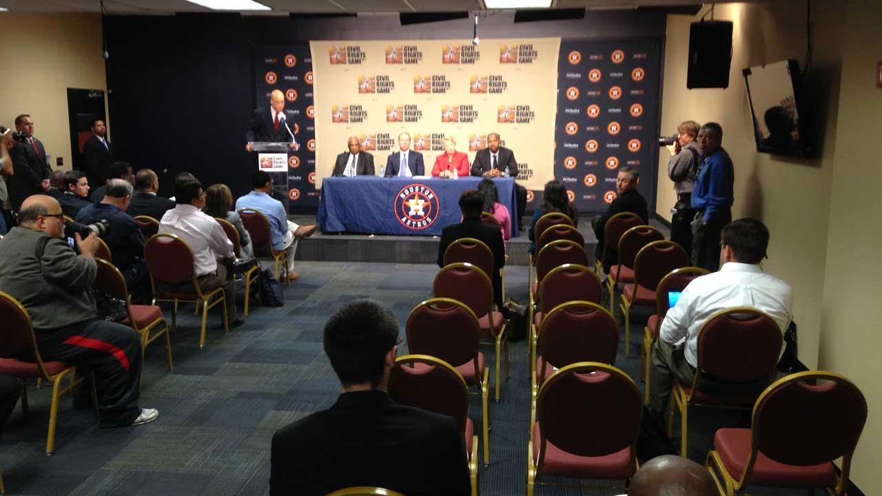 Astros to host 2014 MLB Civil Rights game