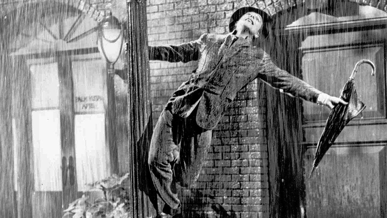 In this undated photo, Gene Kelly performs in the 1952 film Singin in the Rain.