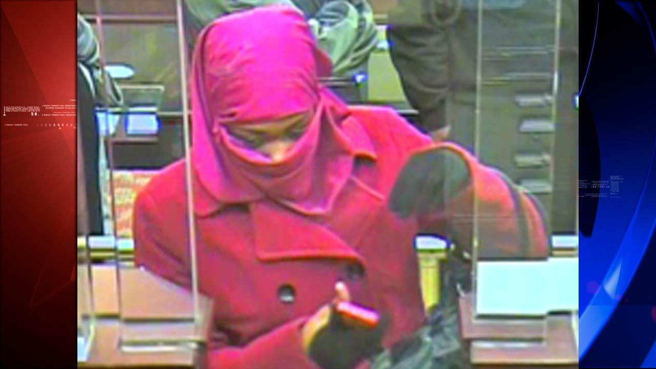 Pink bank robbery