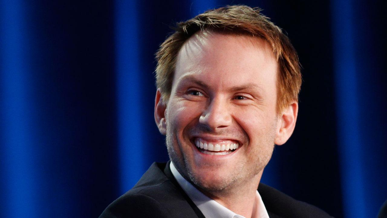 Actor Christian Slater, of the show Breaking In, participates in the Fox spring comedy panel at the Fox Broadcasting Company Television Critics Association Winter Press Tour in Pasadena , Calif. on Sunday, Jan. 8, 2012. (AP Photo/Danny Moloshok)