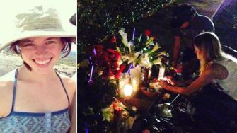 Memorial for bike rider struck and killed by car