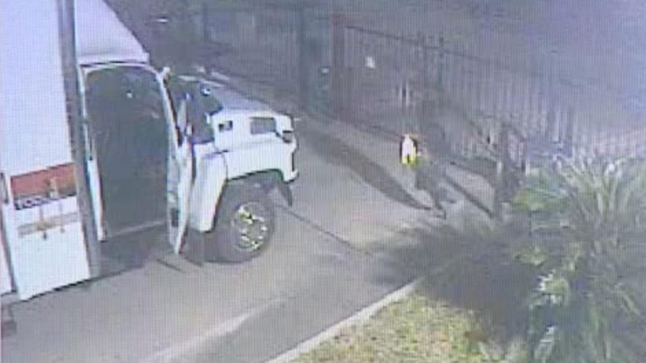 Tool truck stolen