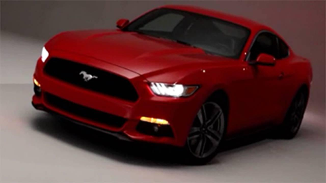 New Ford Mustan unveiled