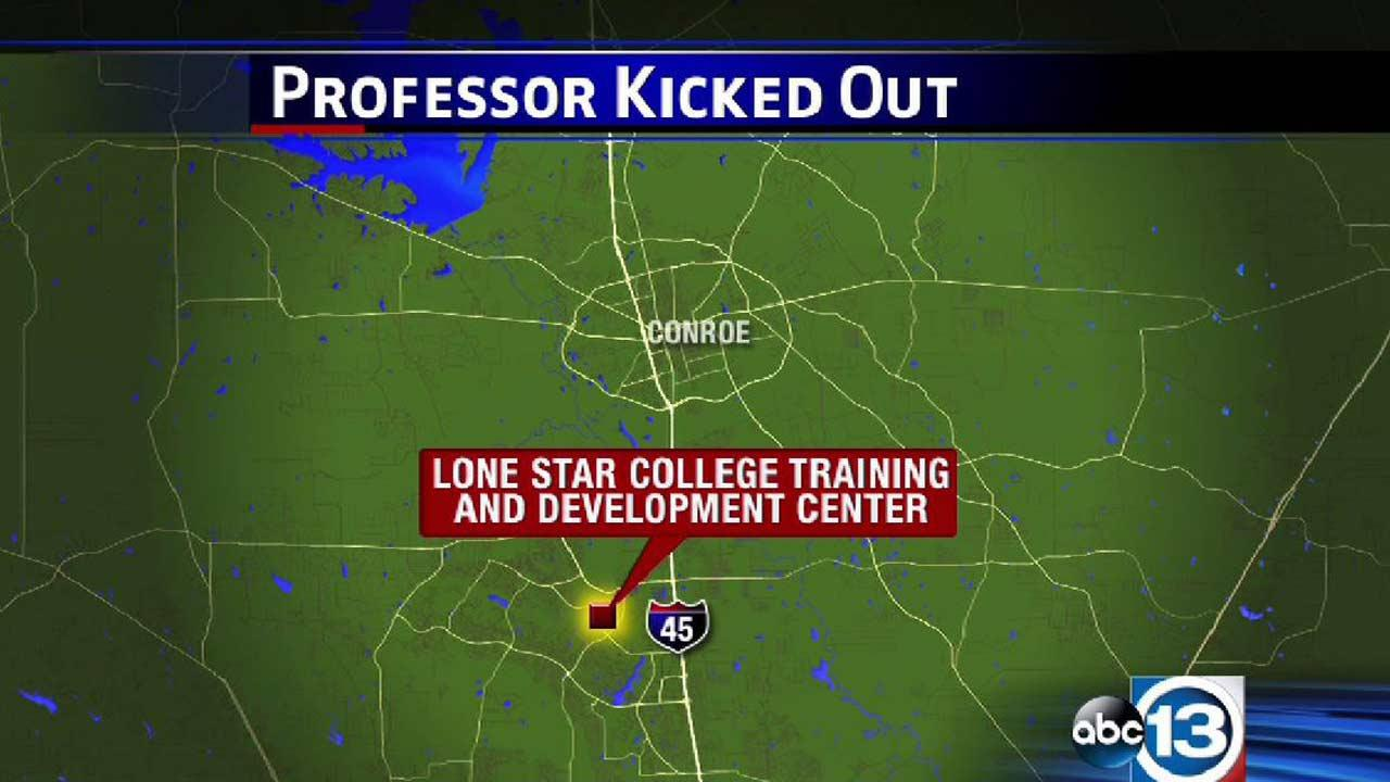 Lone Star College professor kicked out of meeting