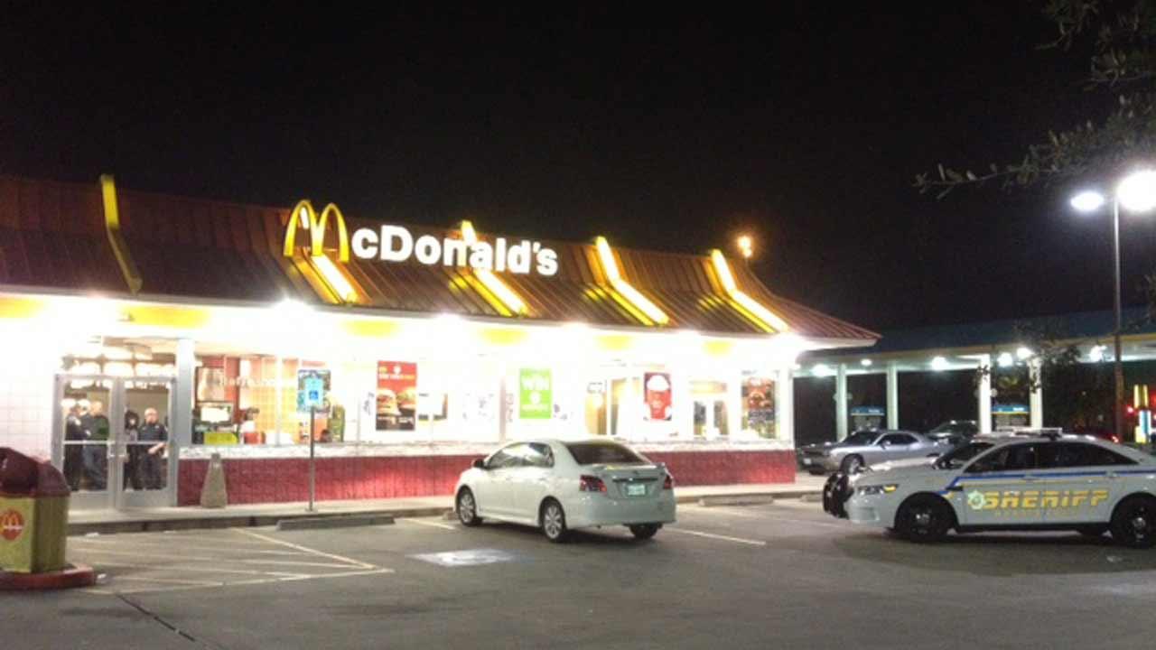 McDonalds robbery