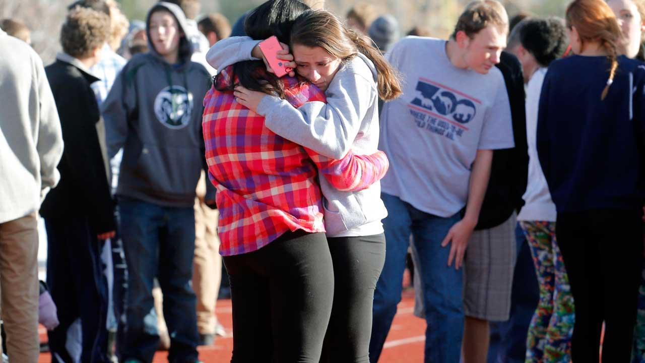 Gunman, 18, wounds classmate in Colorado school shooting