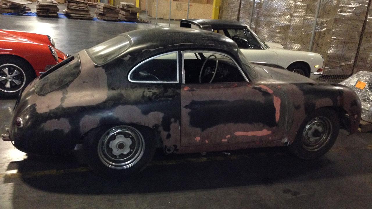 Stolen 1959 Porsche