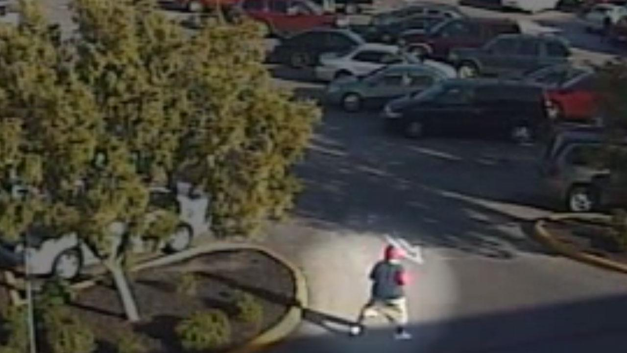Purse snatching caught on surveillance video