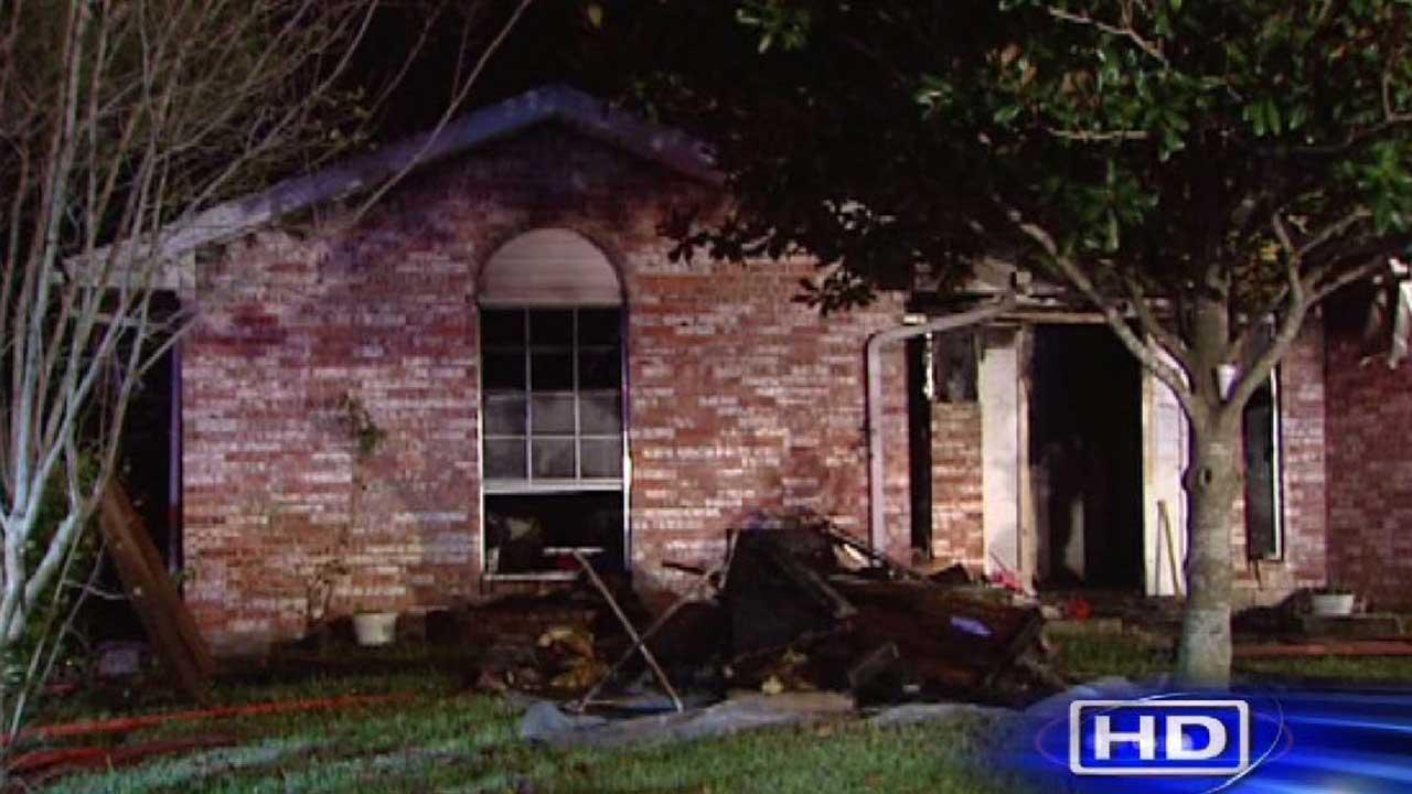 Southwest Houston house fire