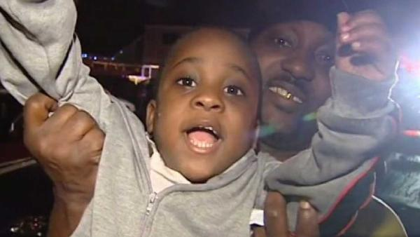 Boy, 4, saves family from fire