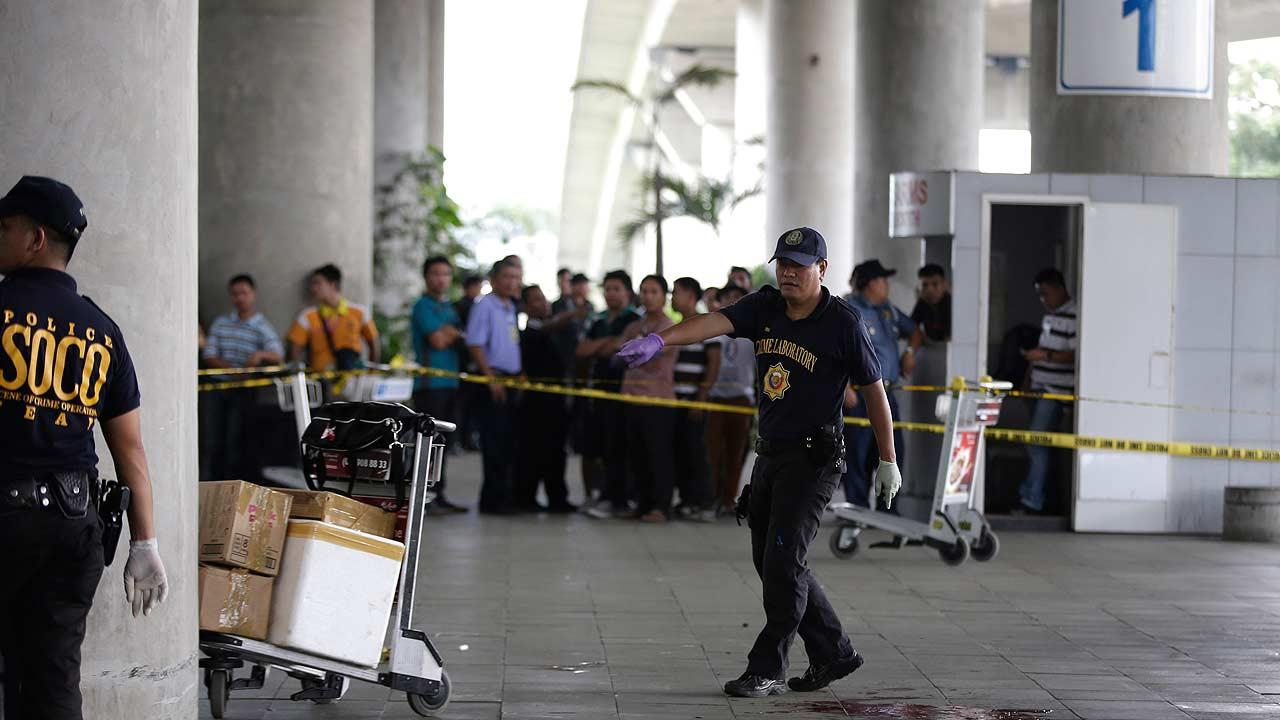 Manila airport shooting
