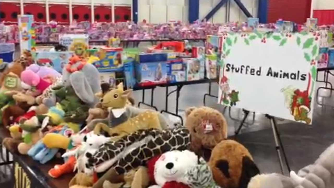 Brightening the holiday for underprivileged kids