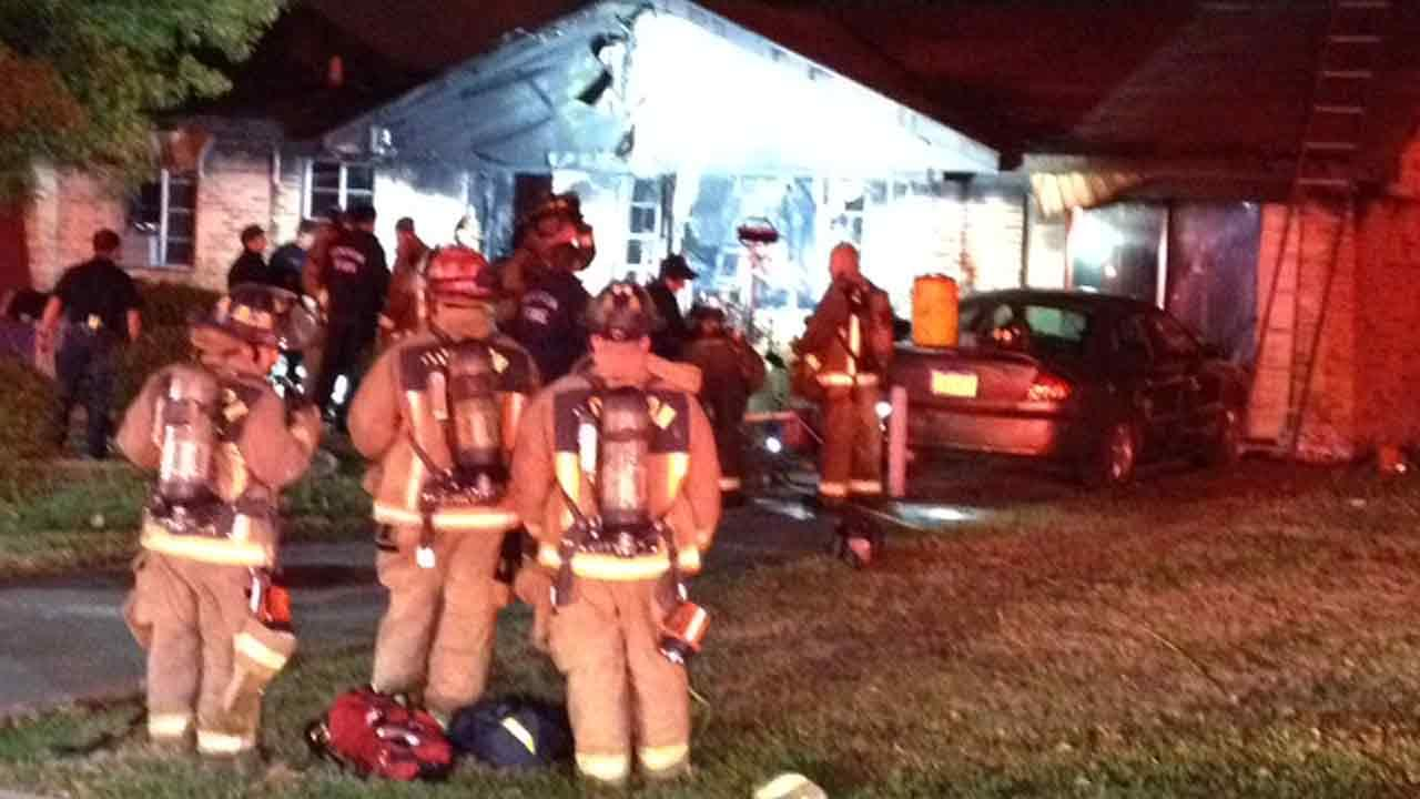House fire in northwest Houston blamed on space heater