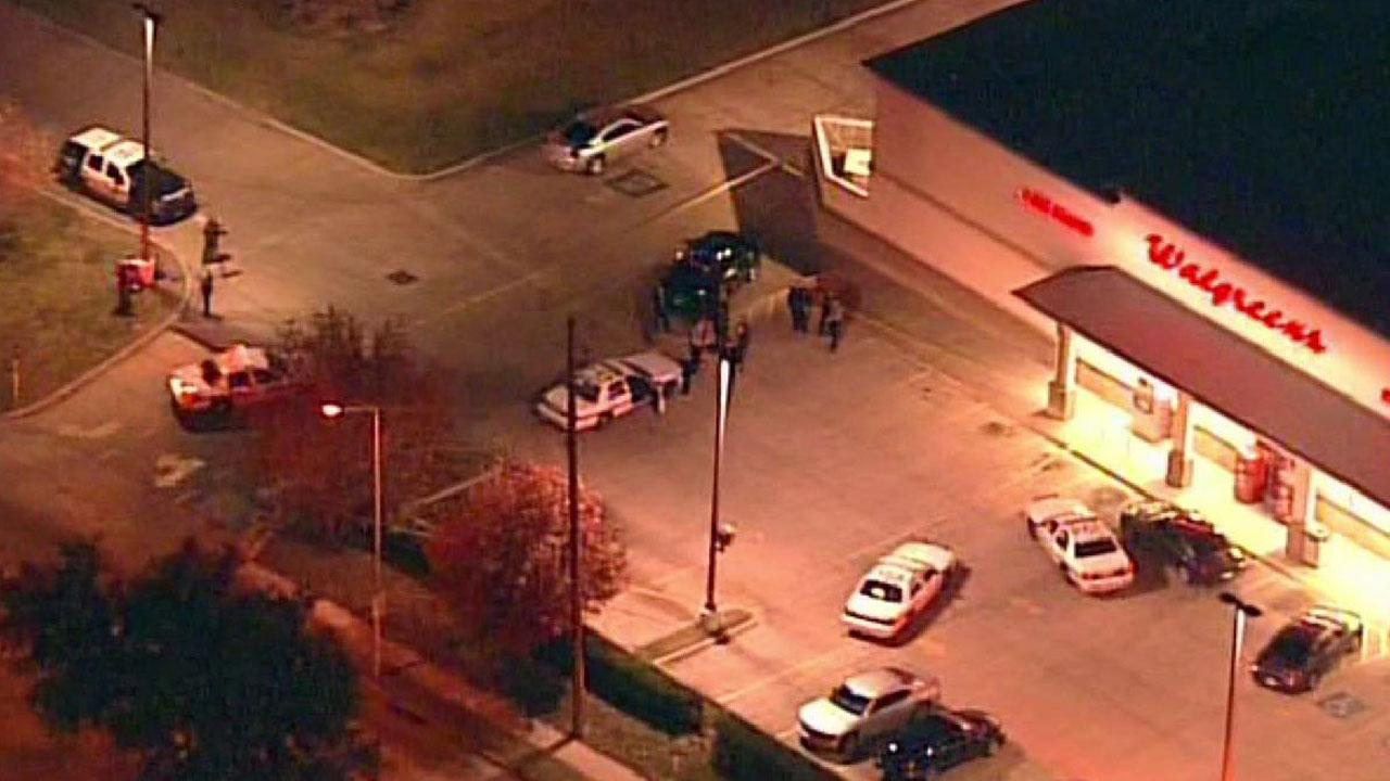 No one was injured after an officer opened fire at a vehicle in southwest Houston.