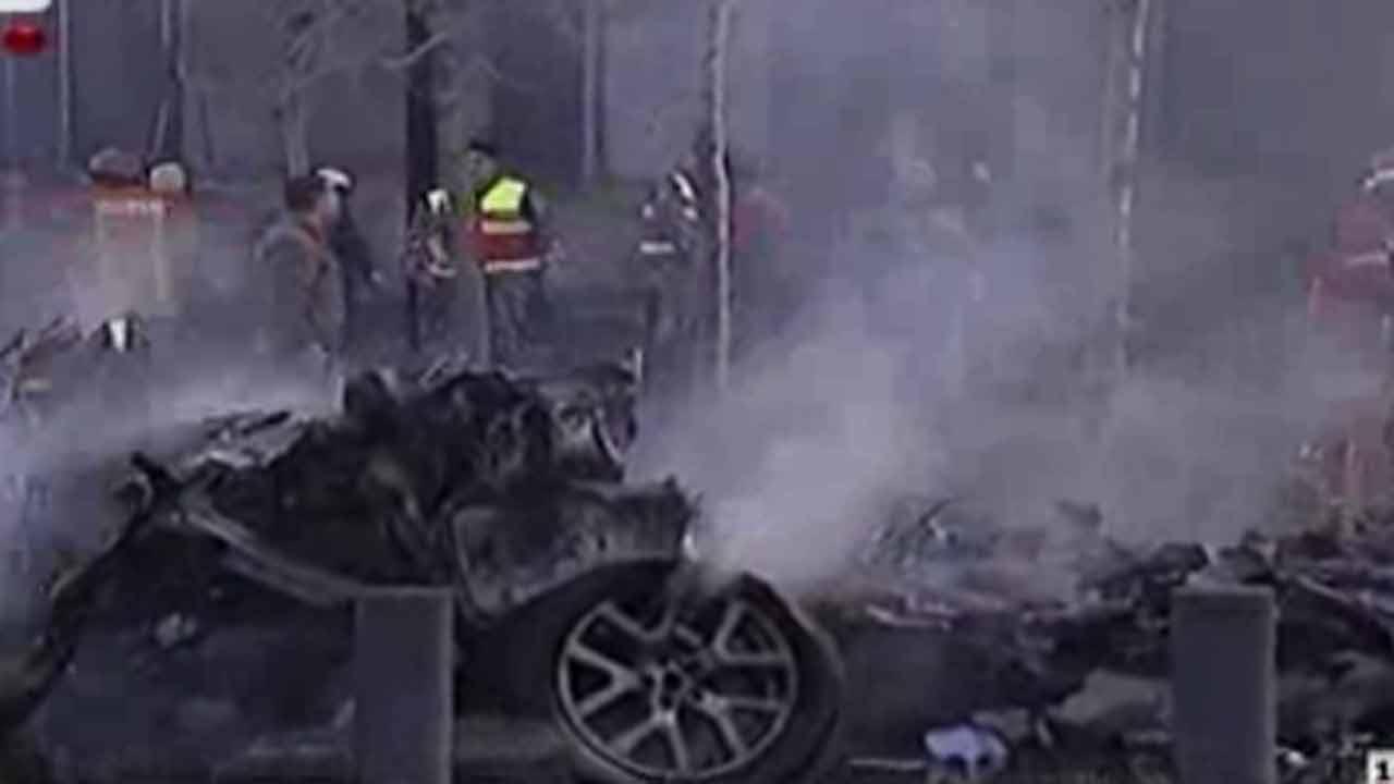Lebanon bombing kills 5, including ex-ministers