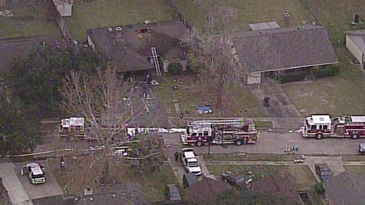 Pearland house explosion