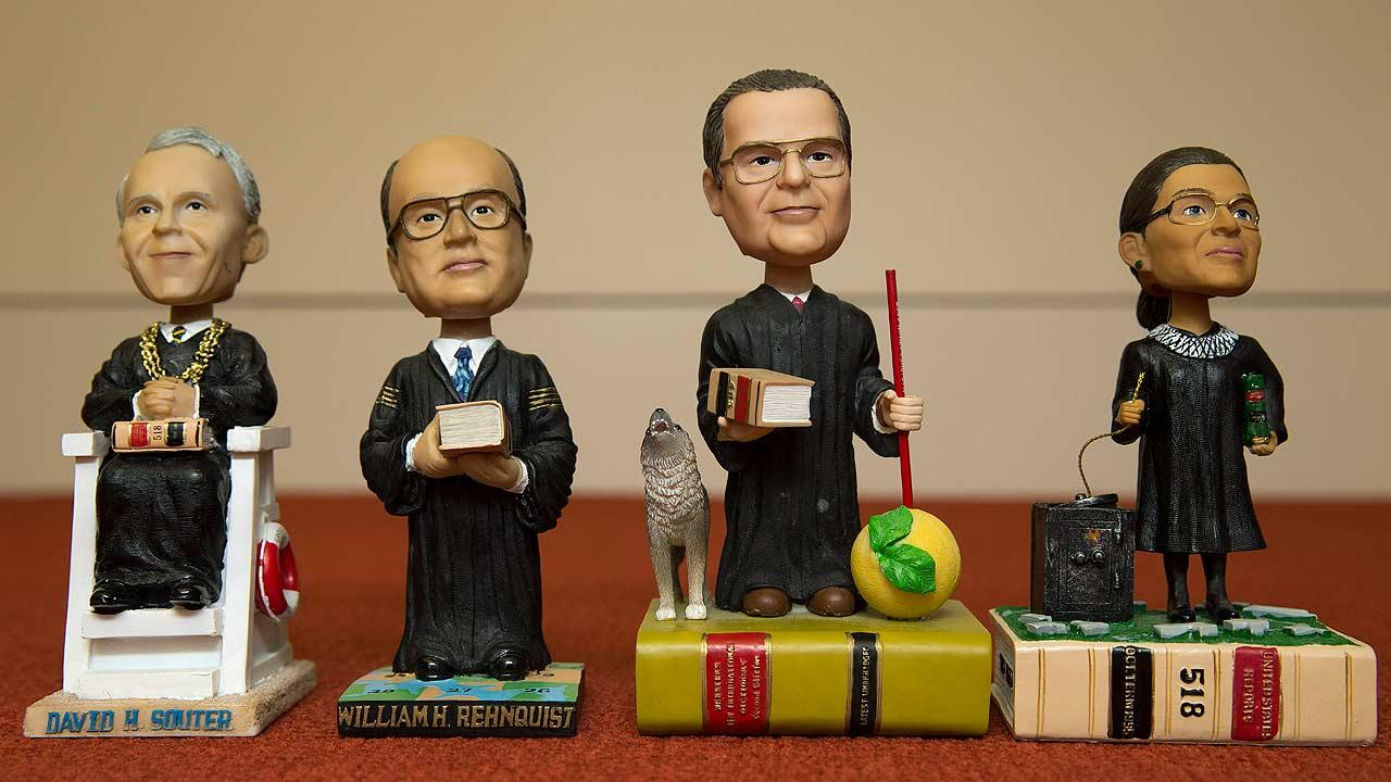 Supreme Court justice bobbleheads