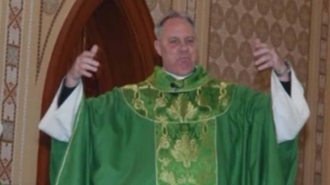 Police arrest suspect in California priest killing