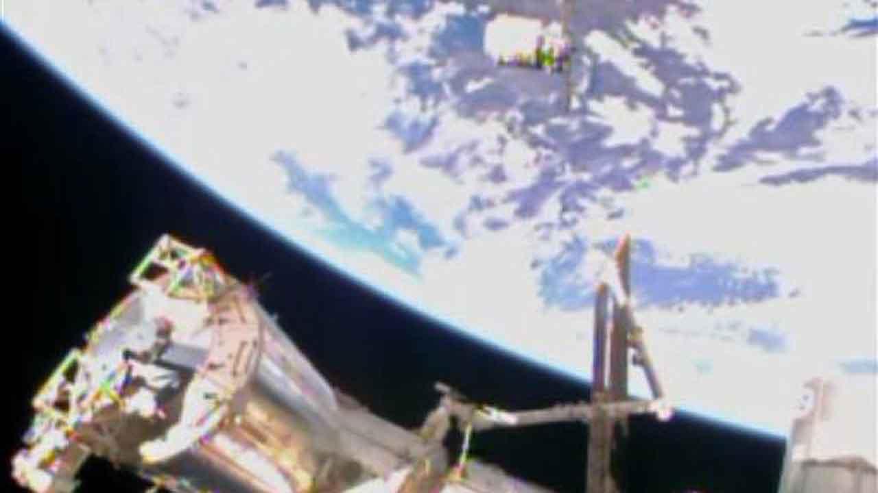 Cygnus at ISS