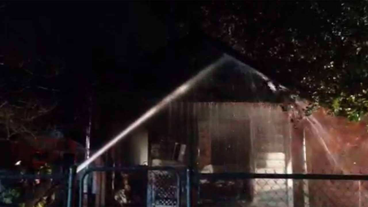 A northeast Houston early morning fire claimed the life of an 80-year-old woman