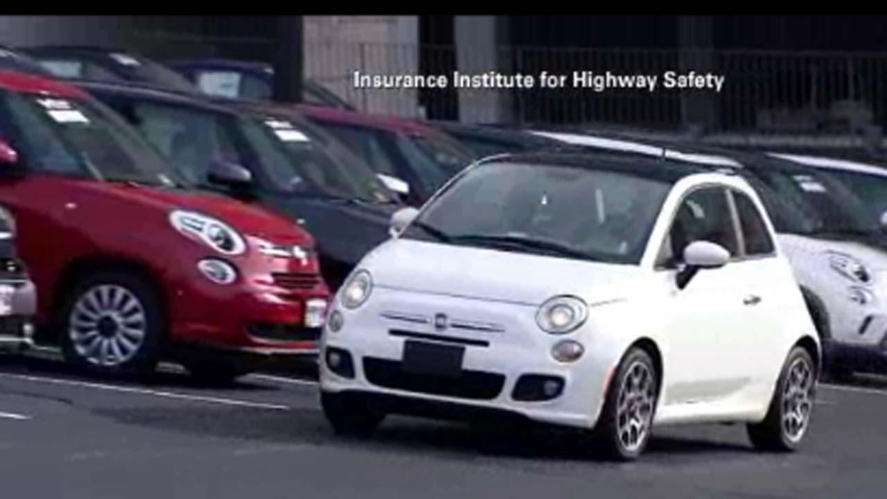 Subcompact cars fare poorly in crash tests