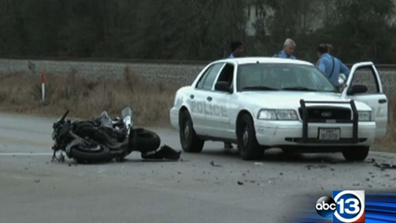 Motorcyclist dies during chase
