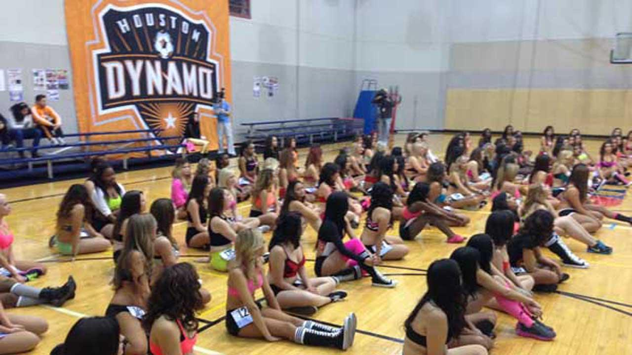 2014 Houston Dynamo Girls auditionsMatt Black