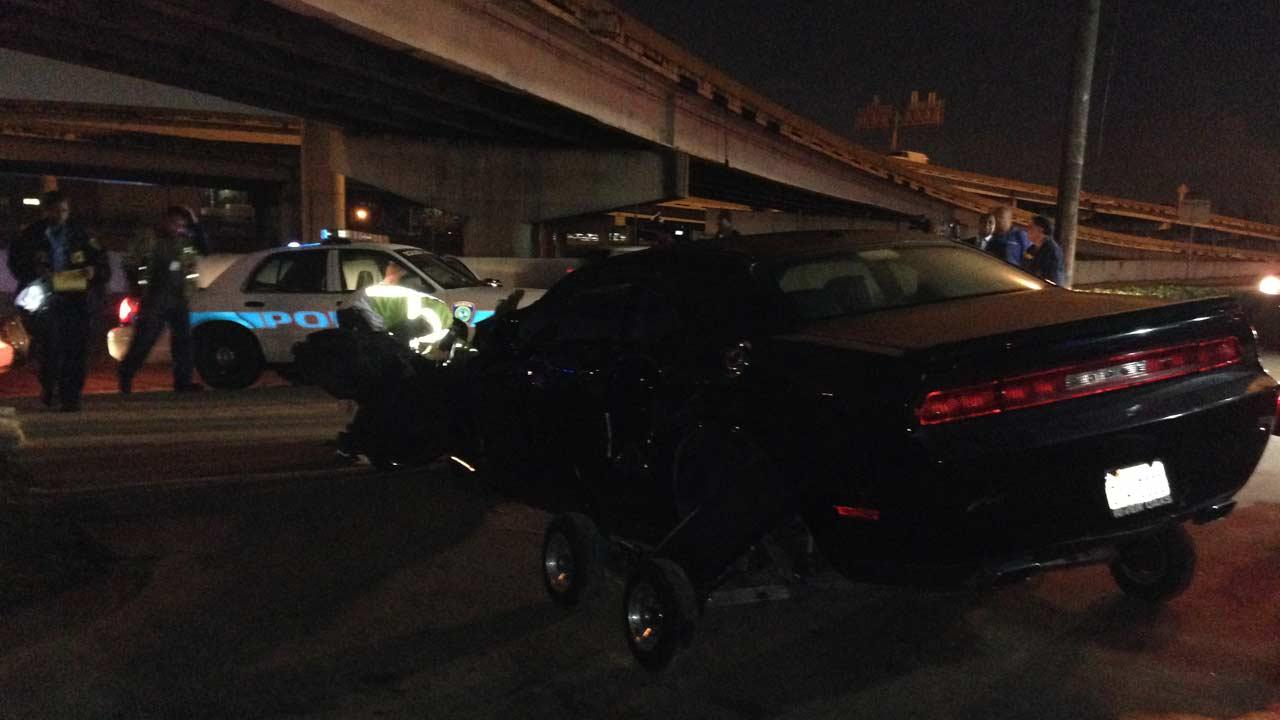METRO officer injured in accident
