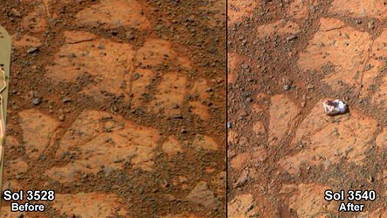 Jelly Donut rock on Mars