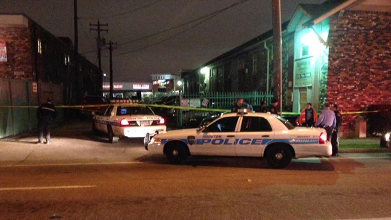 Double shooting in SW Houston