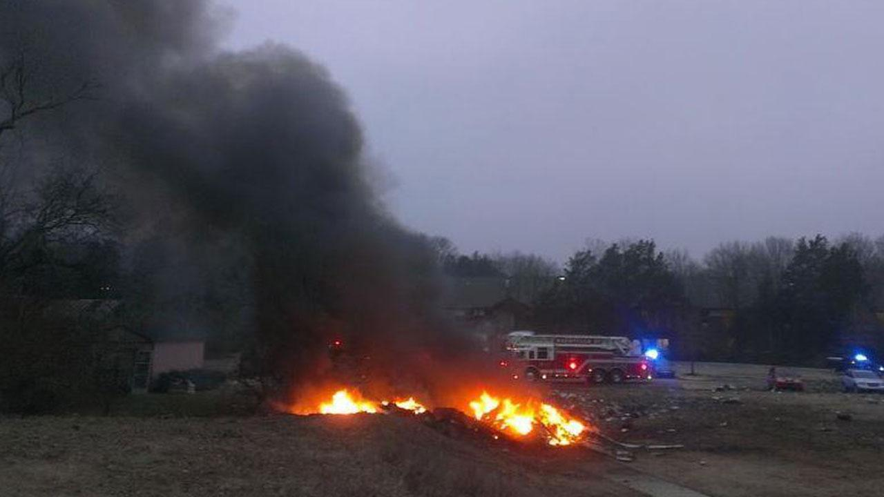 A plane crashed at Bellevue, southwest of Nashville, on February 3, landing close to a YMCA building in the town. Local reports said the aircraft was a Gulfstream 690C, registered to a Kansas company.