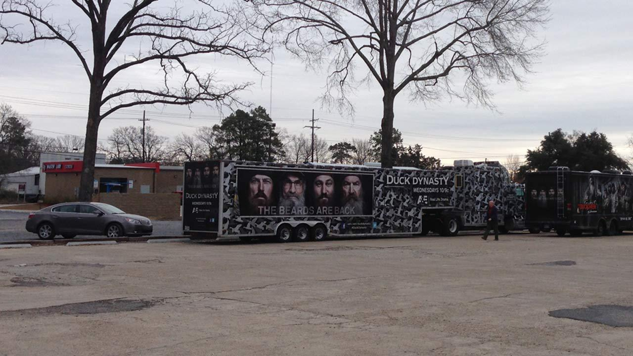 Fans come to the world headquarters of Duck and Buck Commander in Monroe, Louisiana to check out the merchandise and hopefully chat with the reality stars.ABC13/Deborah Wrigley