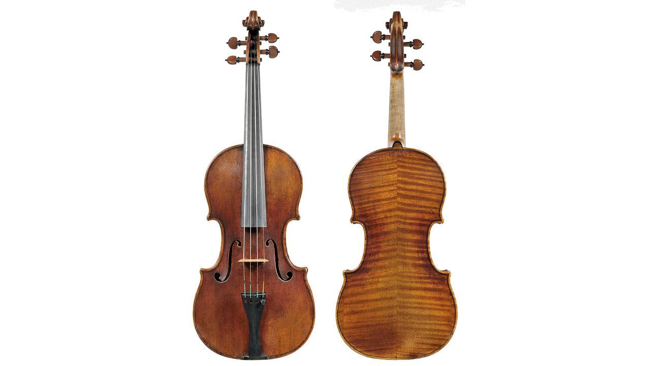300-year-old Stradivarius violin