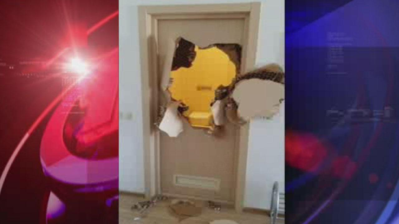 Jammed door in Sochi