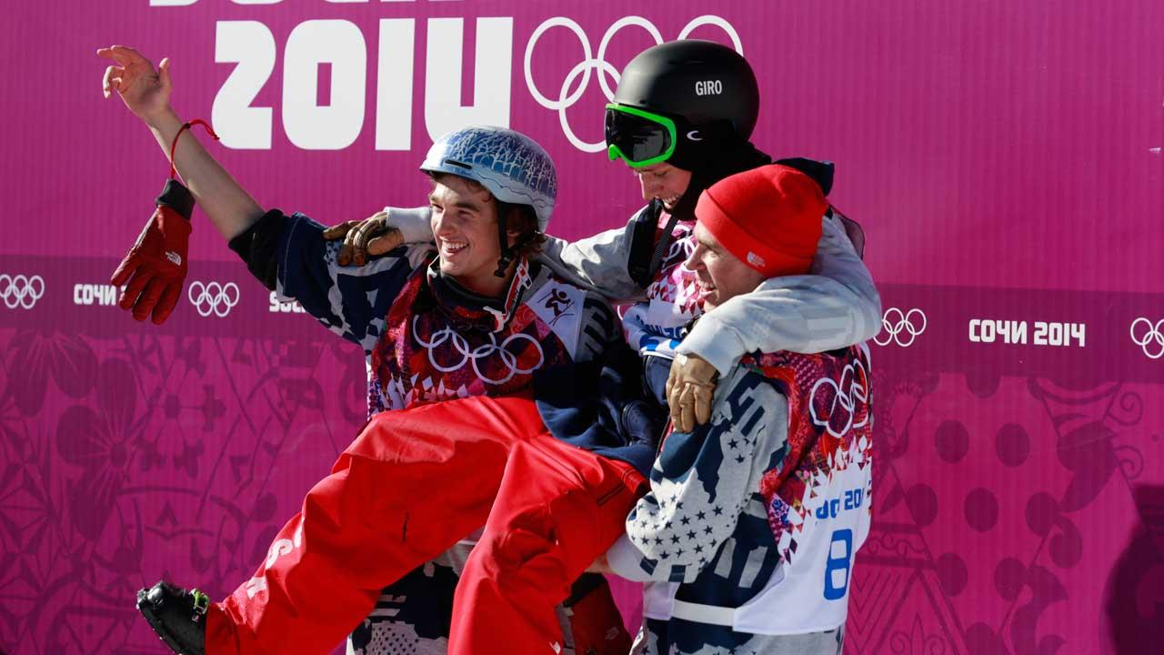 Winter olympics mens slopestyle