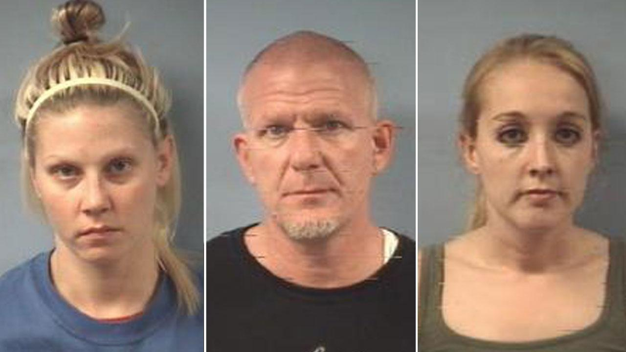 Meth bust suspects