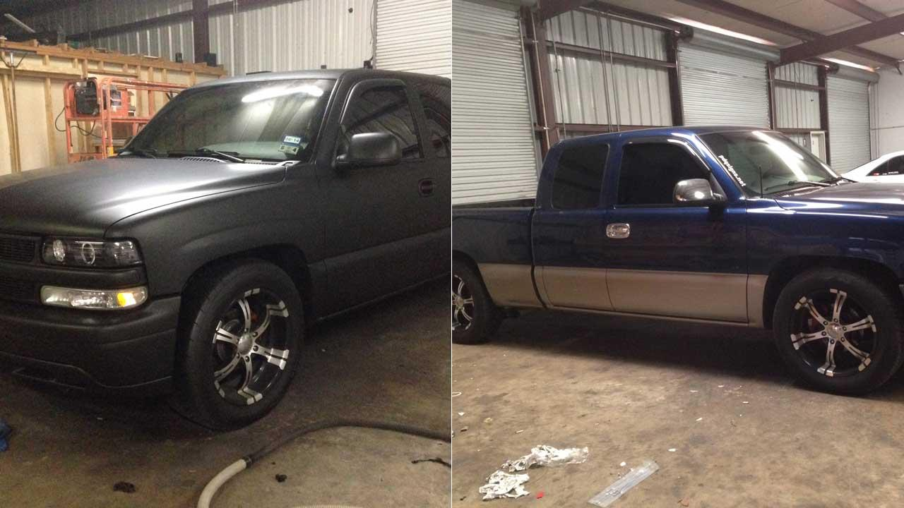 Plasti-Paint before and after photo