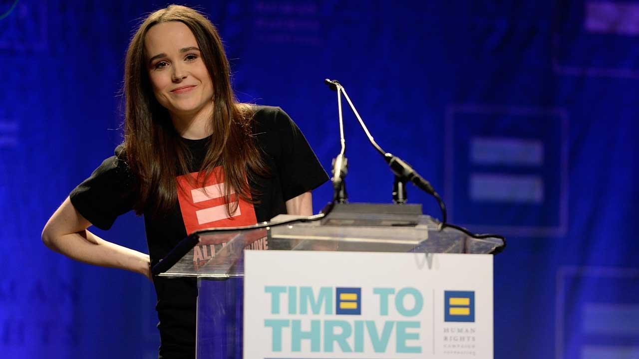 Ellen Page gay