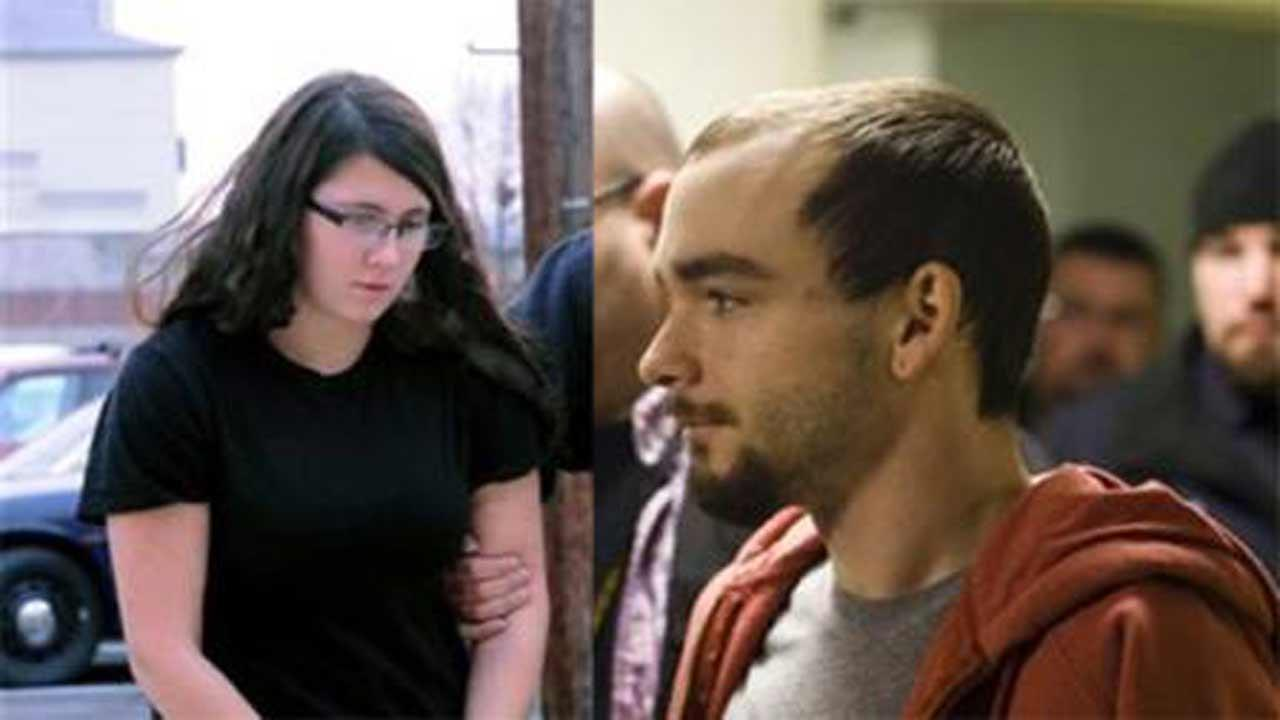Elytte Barbour (right) told officers before his arrest Friday, Dec. 6, that he and his wife, Miranda (left), had planned to kill before, but their plans never worked out until last month when Troy LaFerrara responded to an online posting that promised companionship in return for money, authorities said. Elytte Barbour, 22, and Miranda Barbour, 18, face criminal homicide charges in LaFerraras death. His body was found Nov. 12 in an alley in Sunbury, a small city about 100 miles northwest of Philadelphia. (AP Photo/The News-Item, Mike Staugaitis)