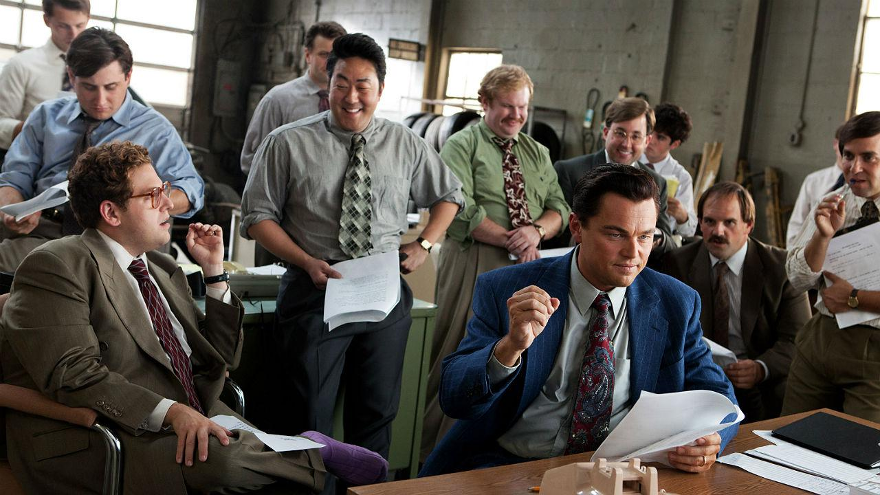 Scene from Wolf of Wall Street
