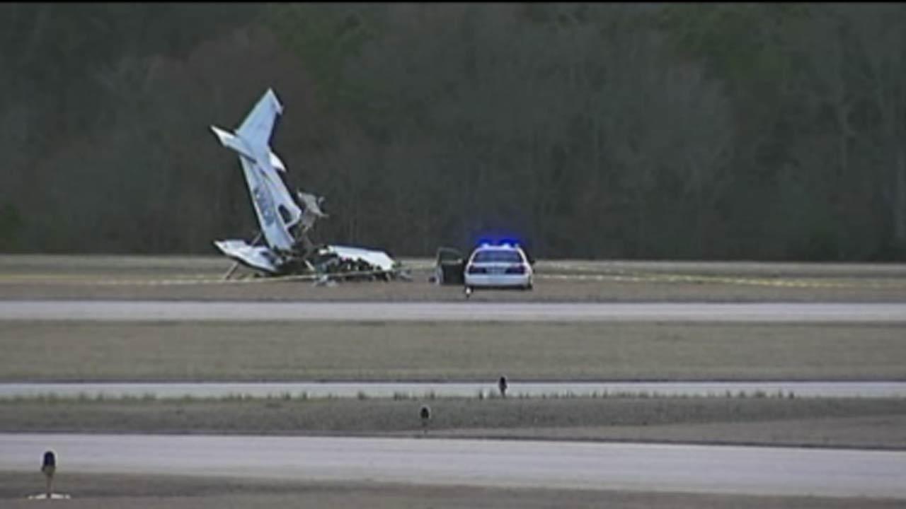 Three dead in plane crash at airport in west Georgia