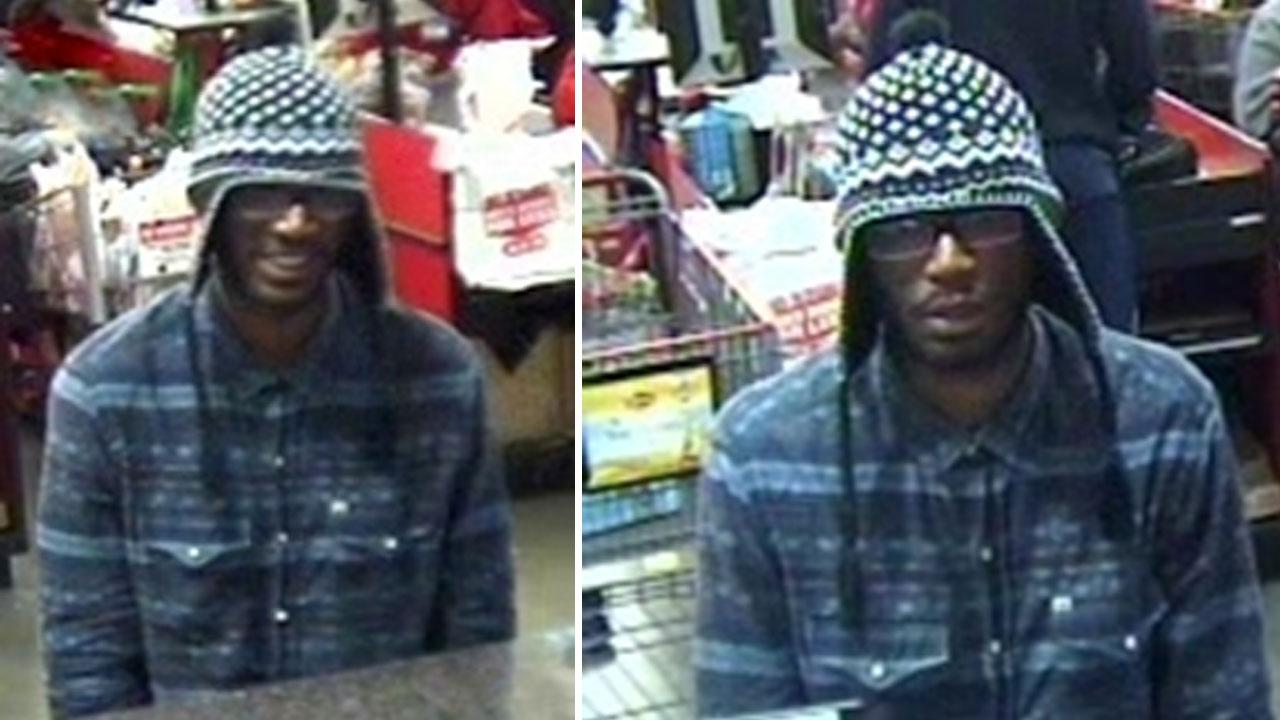 Pearland bank robbery suspect