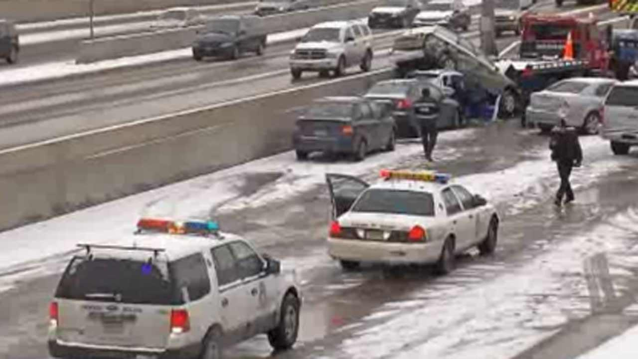 1 killed, 30 injured in massive Colorado pileup