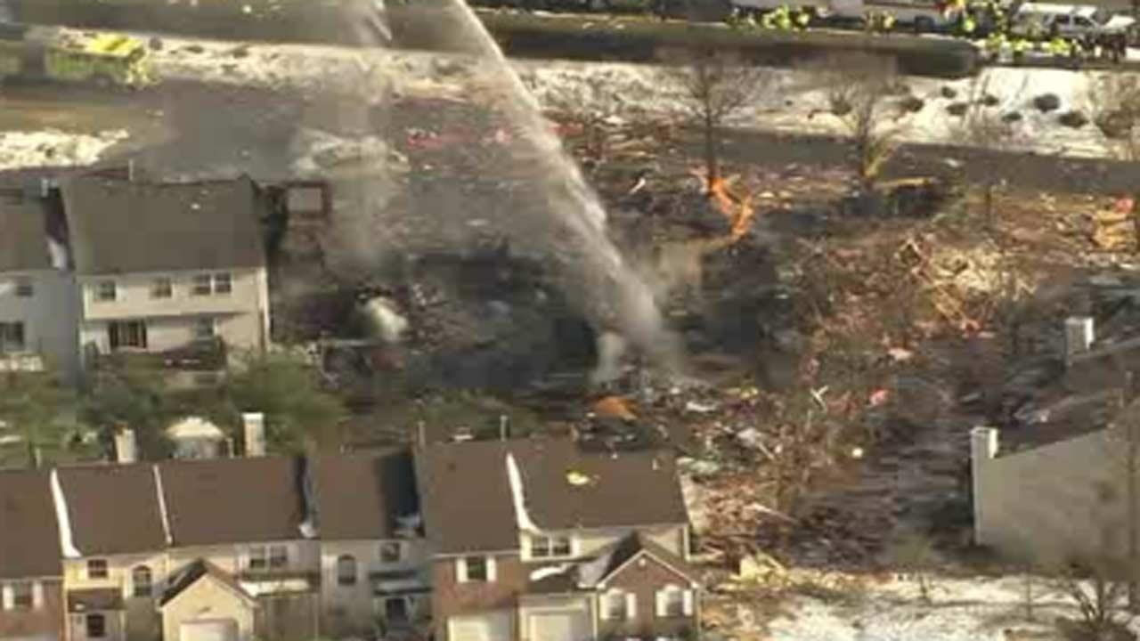 Police say 1 person killed in New Jersey explosion